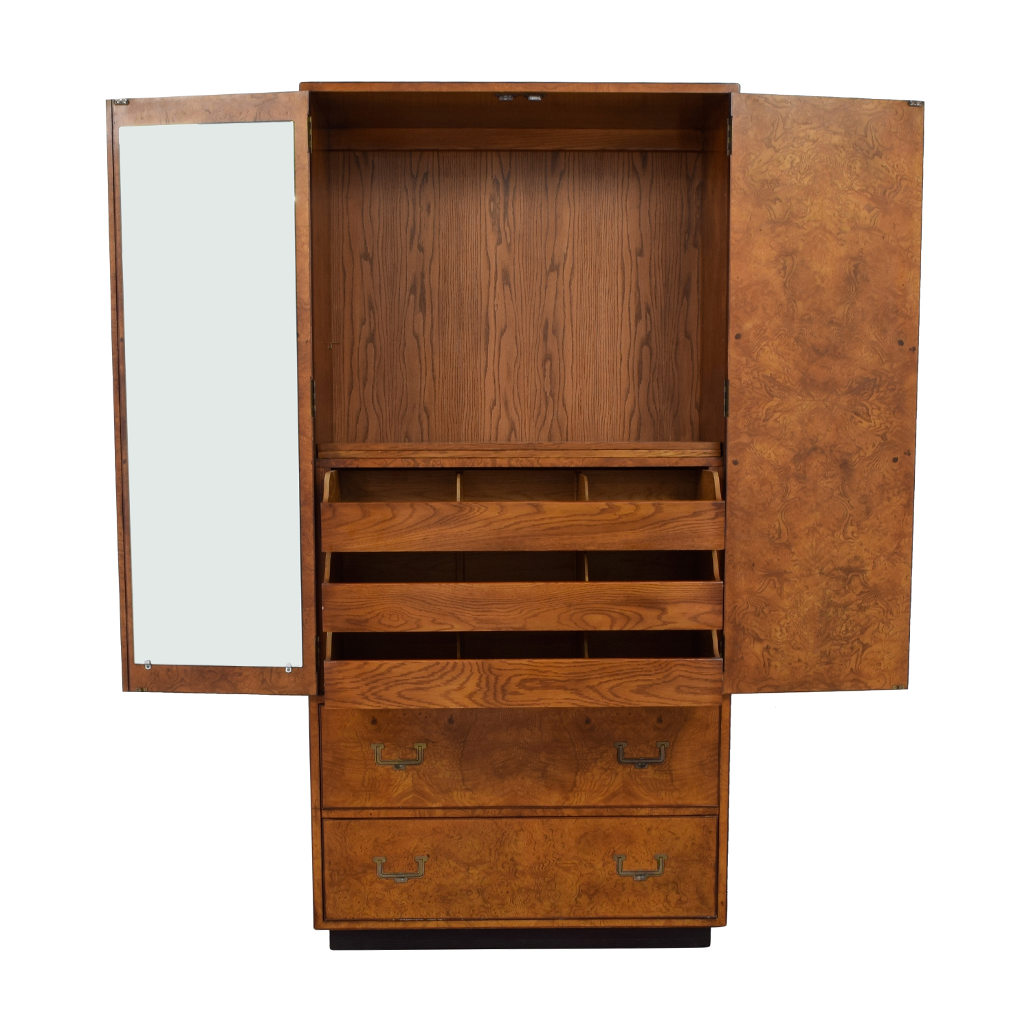John Widdicomb & Co. Wardrobe Wood Armoire / Wardrobes & Armoires
