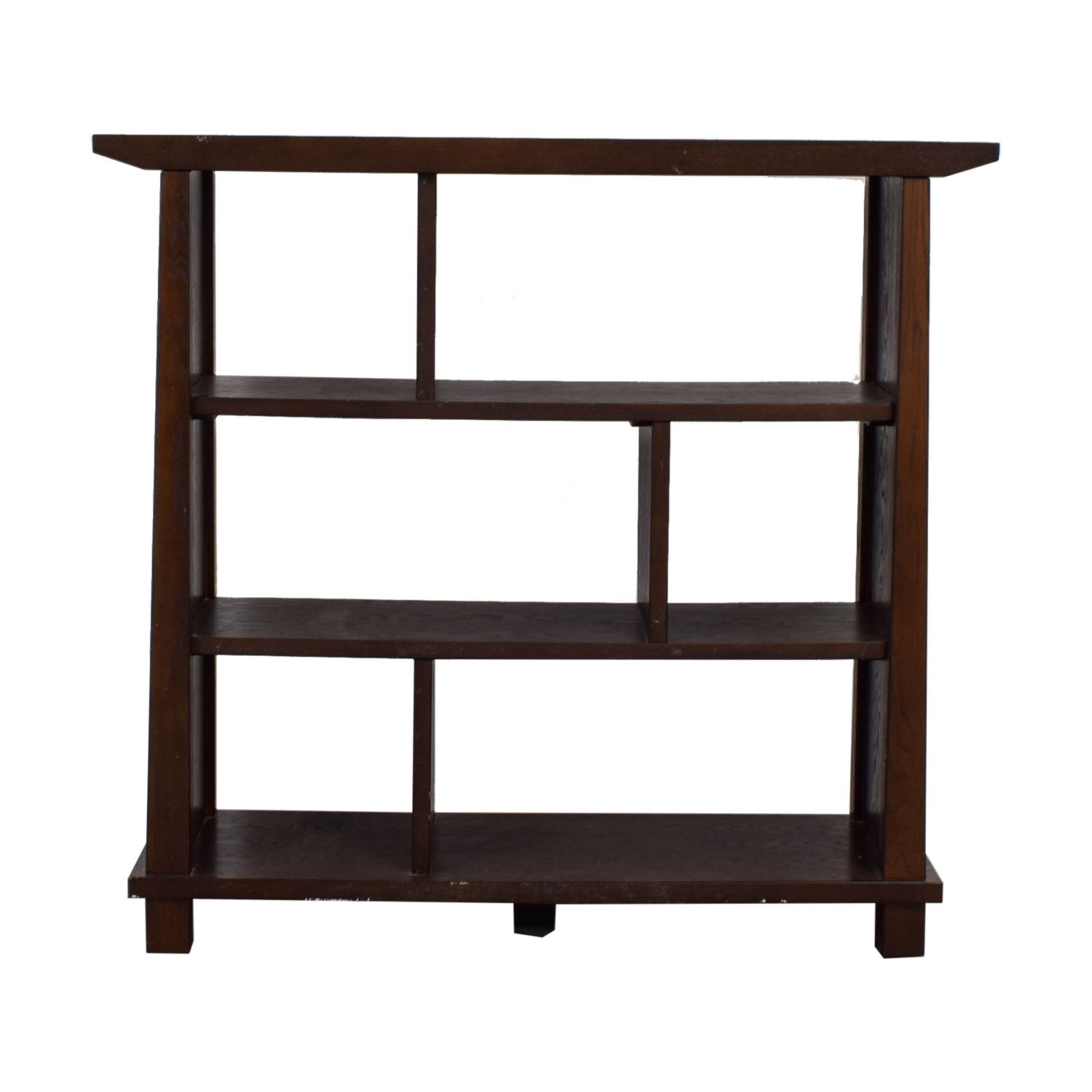 Crate & Barrel Crate & Barrel Bungalow Collection Wood Bookcase on sale
