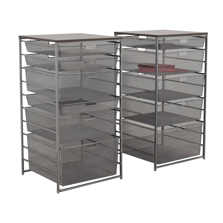 buy Elfa Mesh Storage Units Elfa Storage