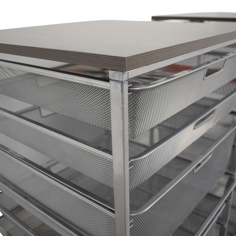 66% OFF   Elfa Elfa Mesh Storage Units / Storage