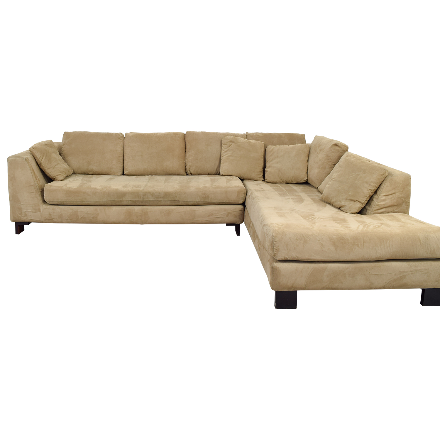 Tan L-Shaped Sectional coupon