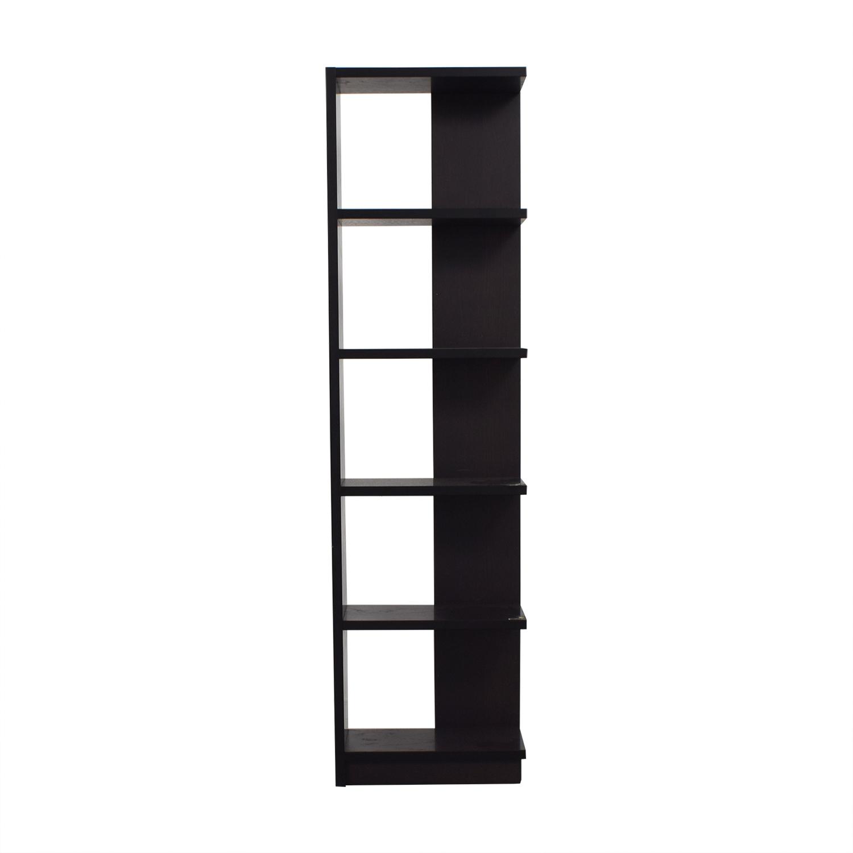 buy The Door Store Brown Bookcase The Door Store Storage