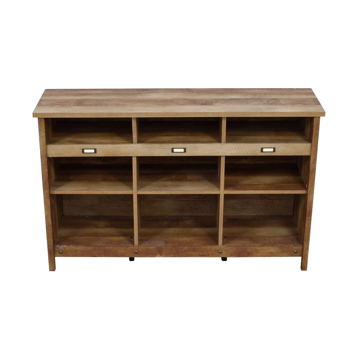 Birch Lane Birch Lane Orville Raw Wood Cube Unit Bookcase nyc