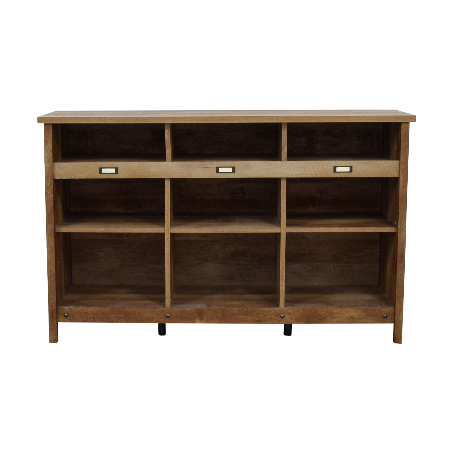 Birch Lane Birch Lane Orville Raw Wood Cube Unit Bookcase used