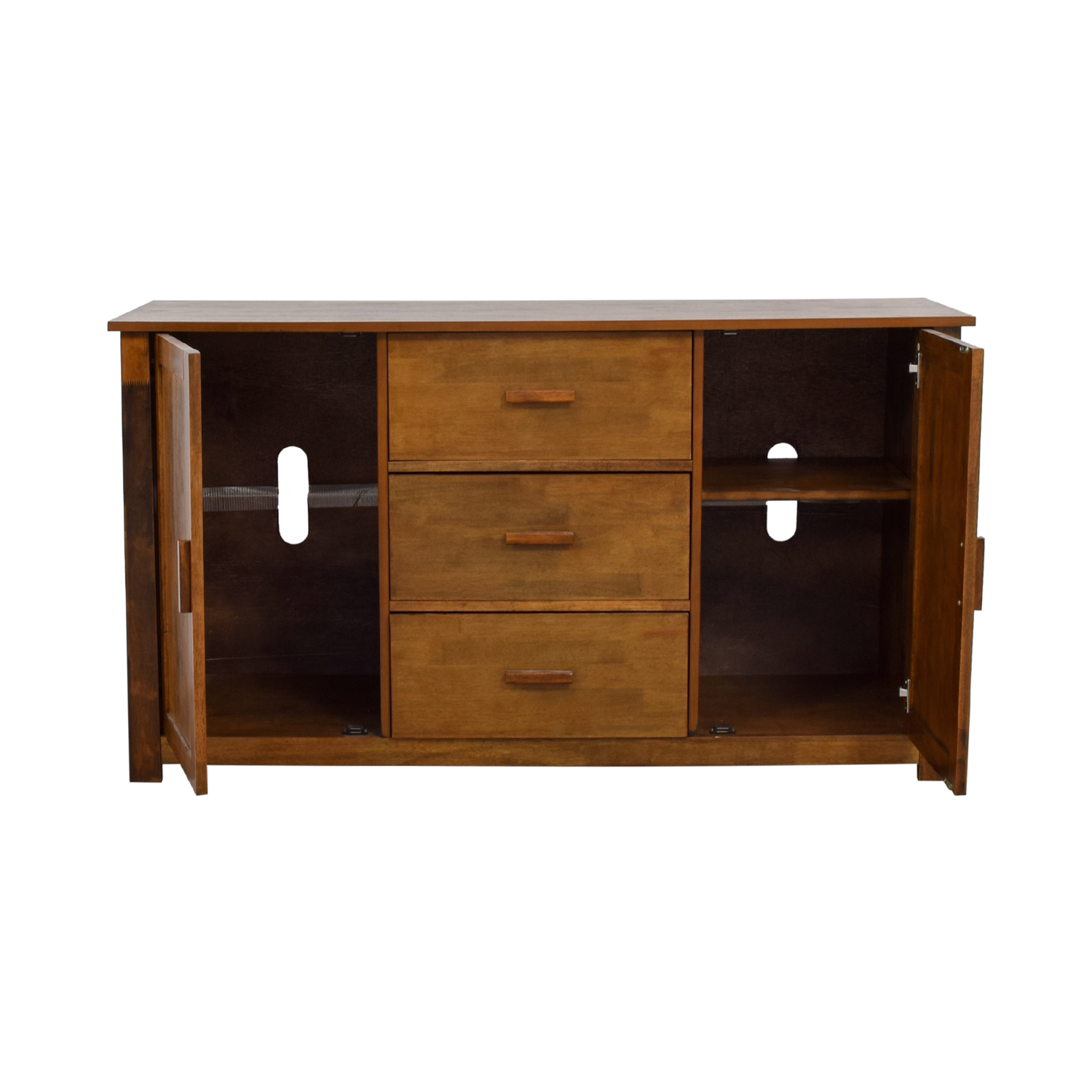 buy Clay Alder Dallas Walnut Buffet Clay Alder Cabinets & Sideboards