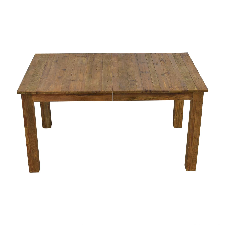 West Elm West Elm Rustic Expandable Farm Table used