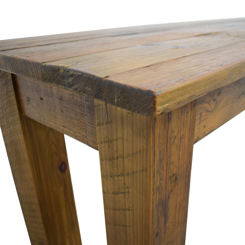 shop West Elm Reclaimed Wood Bench West Elm