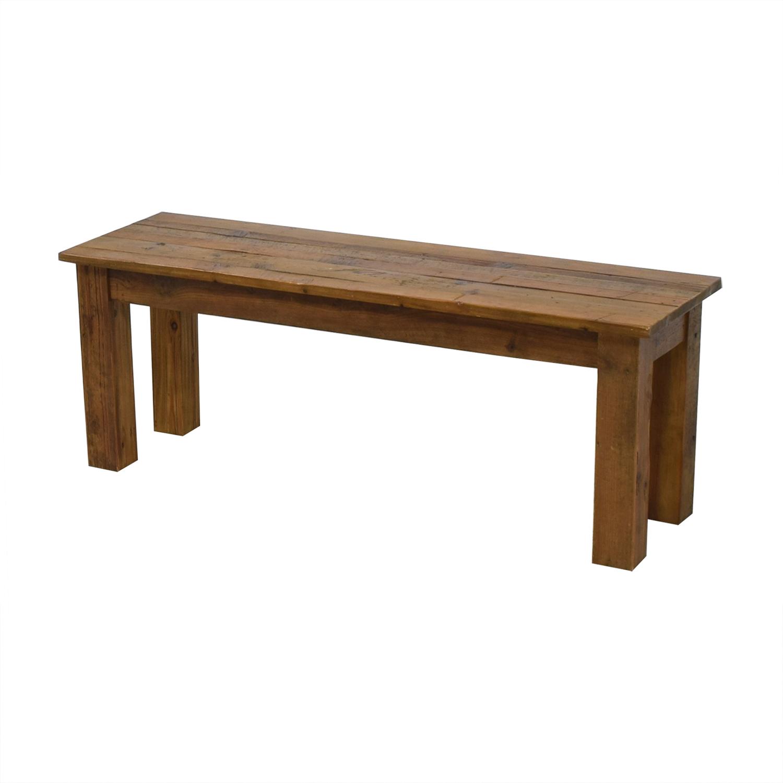 West Elm West Elm Reclaimed Wood Bench for sale