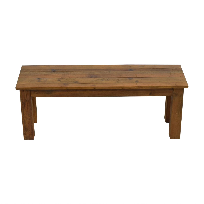 West Elm West Elm Reclaimed Wood Bench second hand