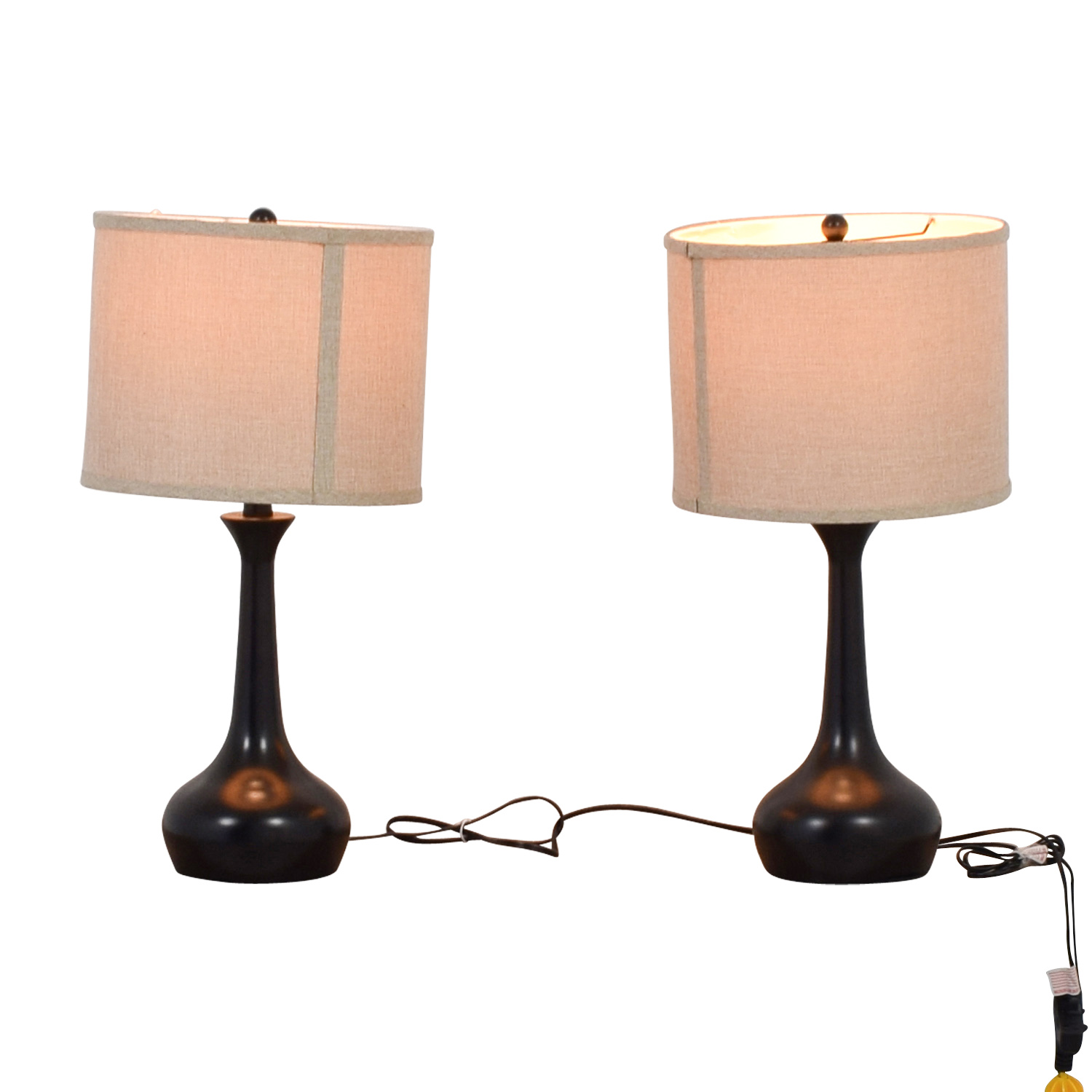Pier 1 Imports Pier 1 Imports Black Table Lamps second hand
