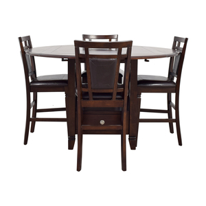 Northfield Northfield Wood Counter Height Dining Set dimensions