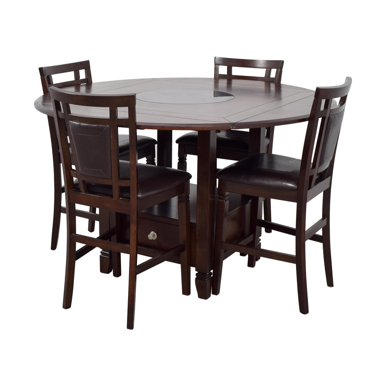 ... Northfield Northfield Wood Counter Height Dining Set Used ...