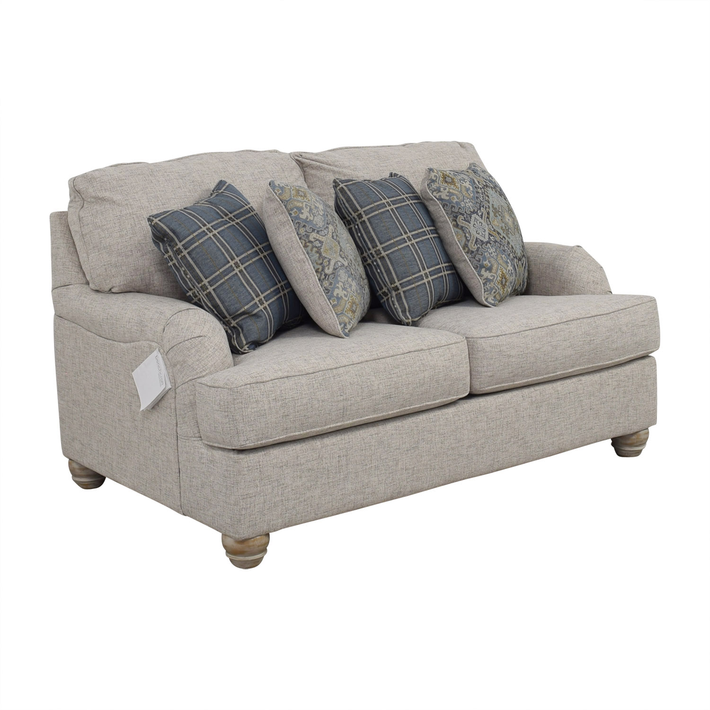 Astonishing 65 Off Ashley Furniture Ashley Furniture Benchcraft Traemore Grey Loveseat Sofas Home Interior And Landscaping Mentranervesignezvosmurscom