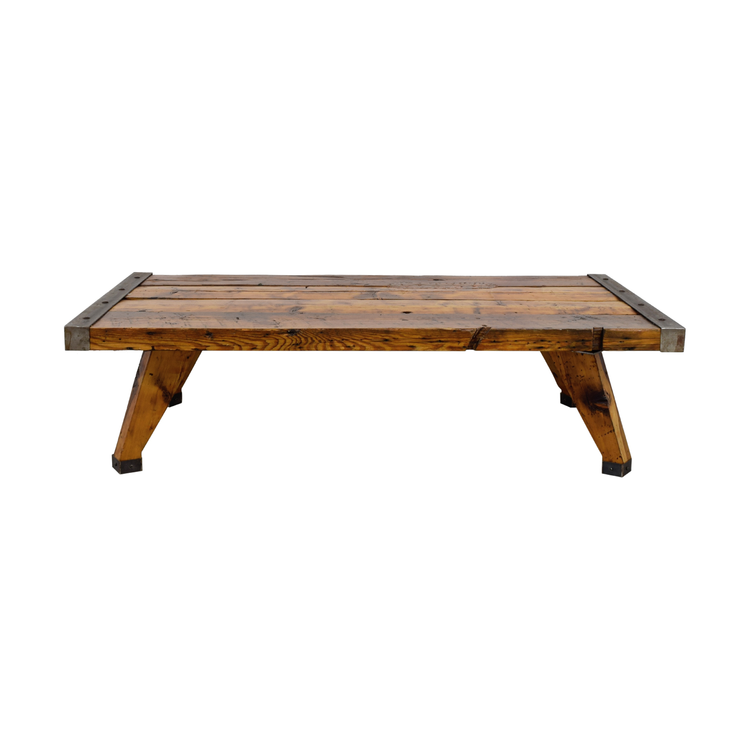 shop  Reclaimed Wood and Metal Coffee Table online