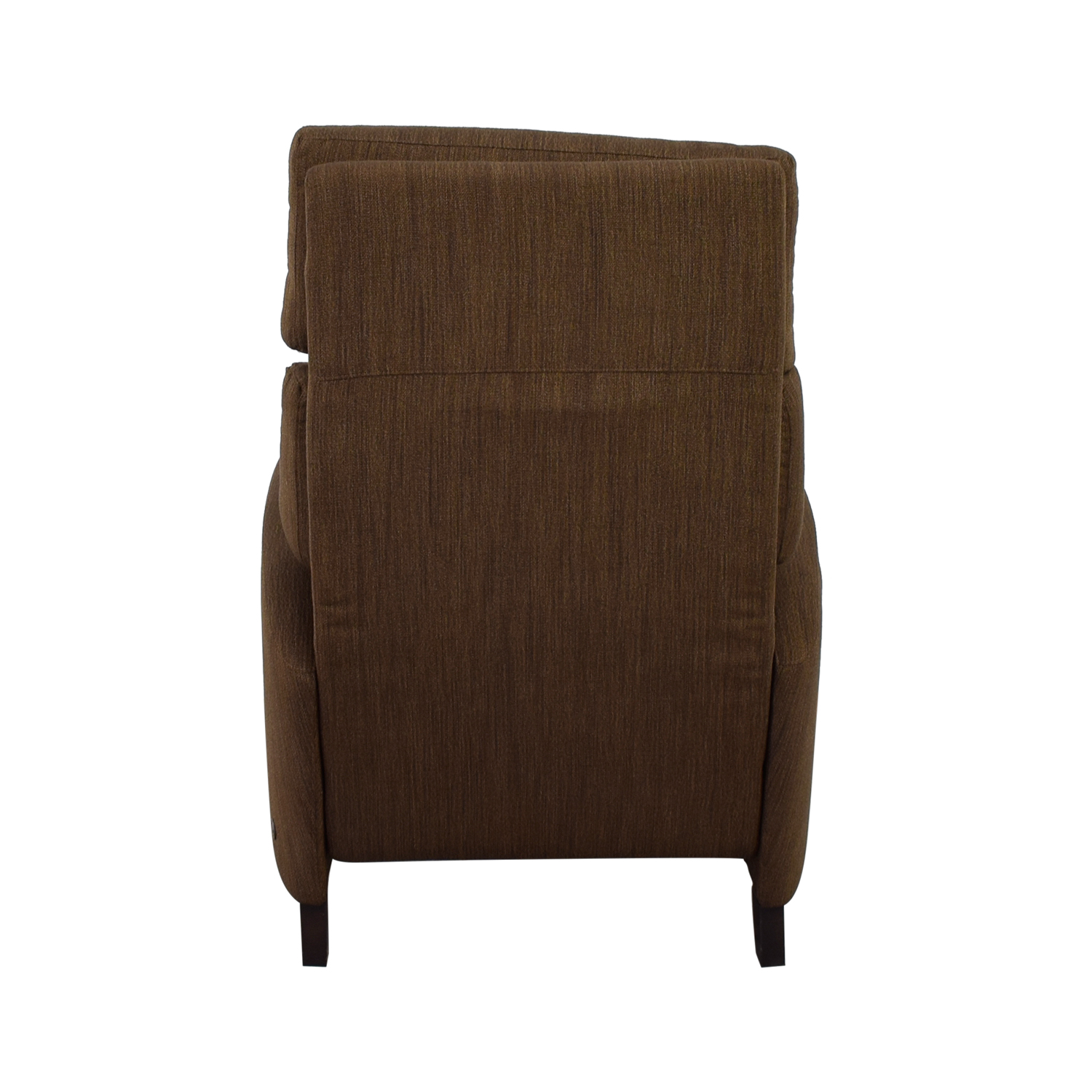 shop American Leather Brown Tweed Electric Recliner Chair American Leather Sofas
