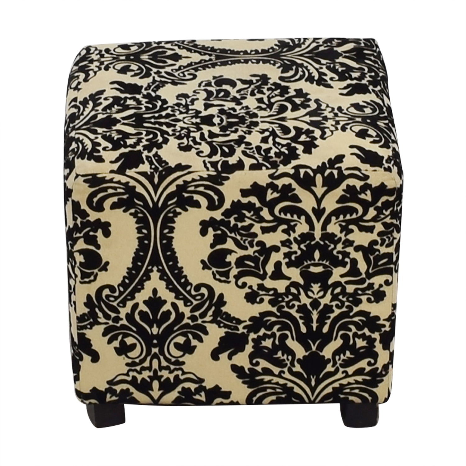 Bed Bath & Beyond Bed Bath & Beyond Black & White Ottoman