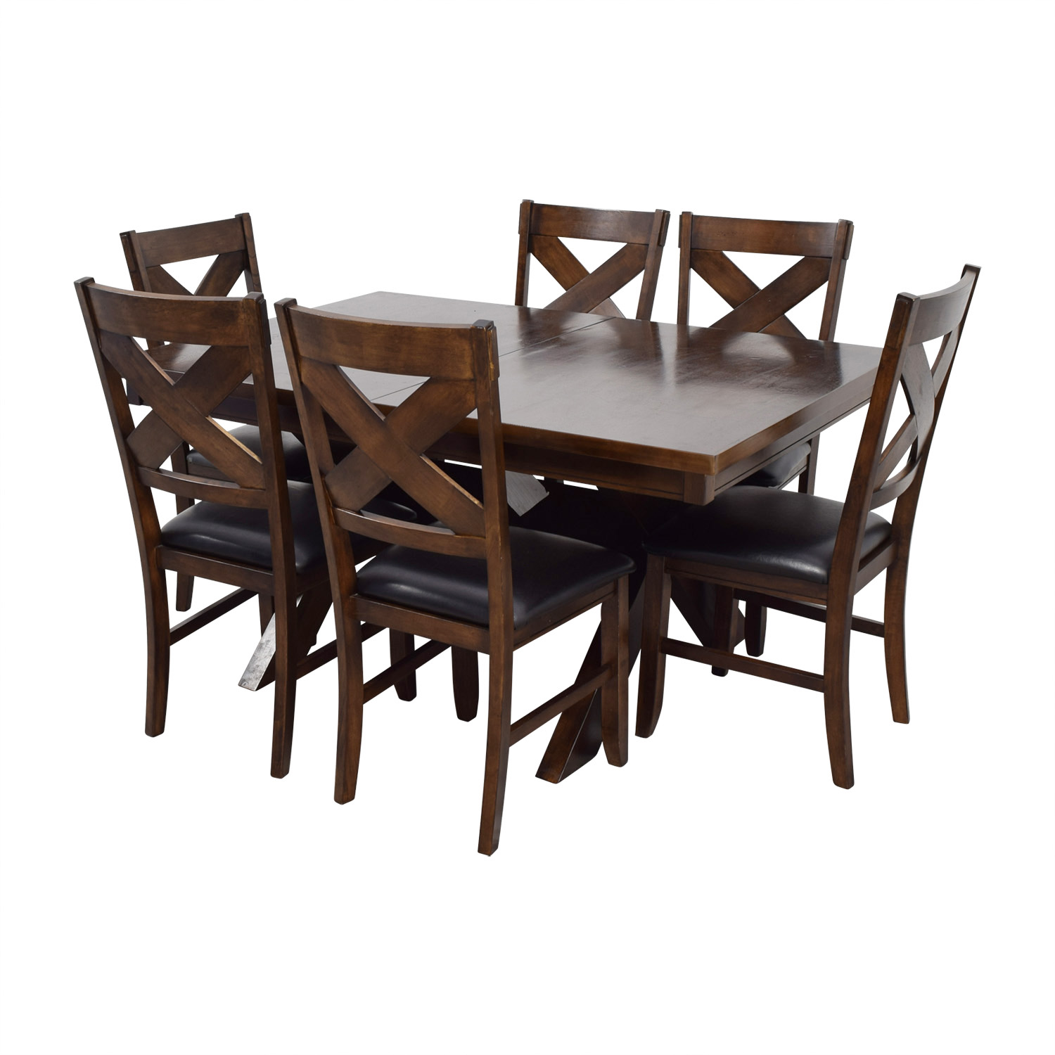 55 off green river wood green river wood dining set with black
