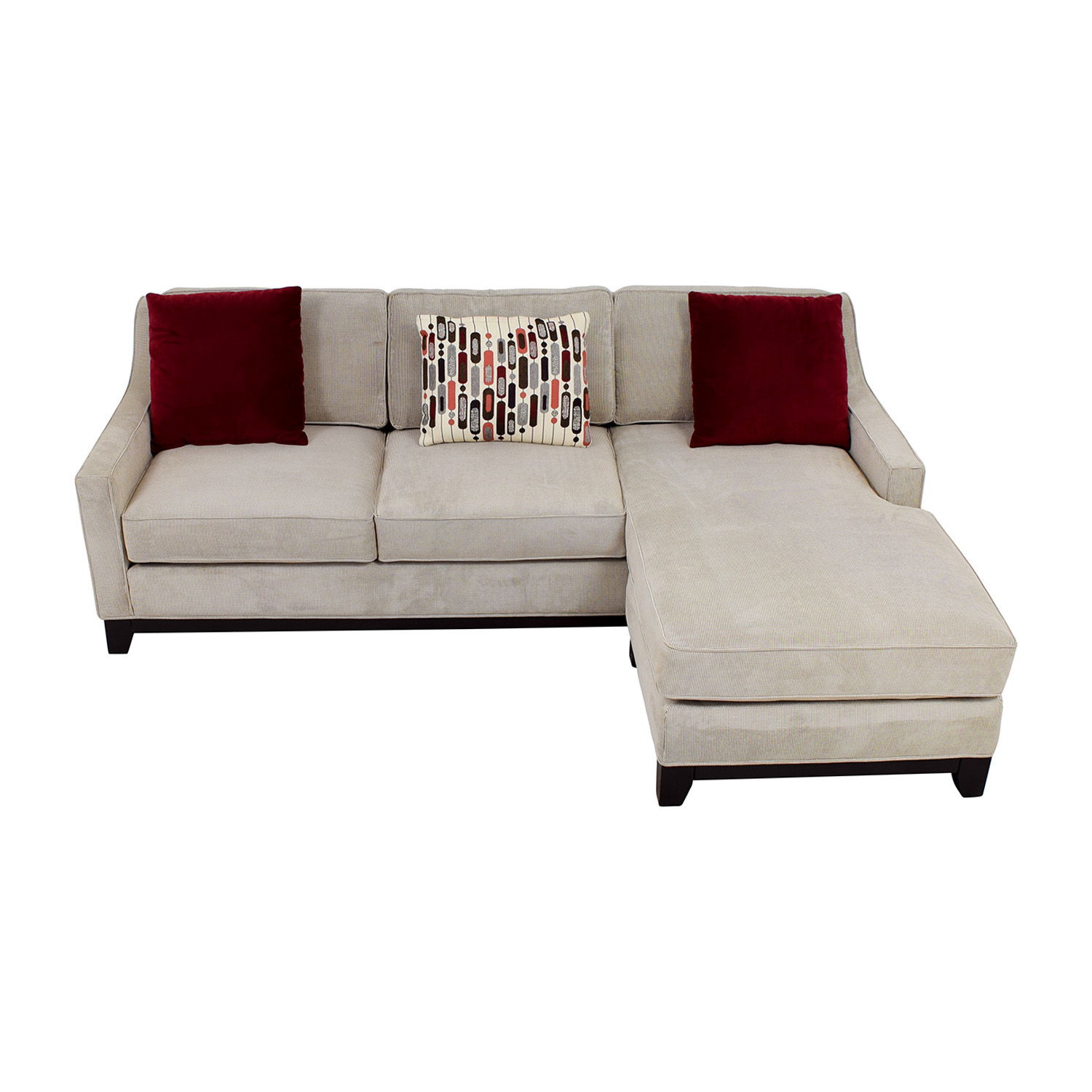 Kerridon Collection Kerridon Collection Grey Tweed Chaise Sectional