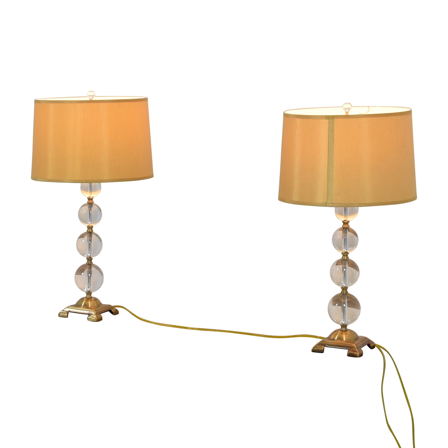 Neiman Marcus Neiman Marcus Glass Globe Lamps dimensions