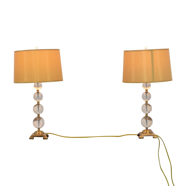 buy Neiman Marcus Glass Globe Lamps Neiman Marcus Decor