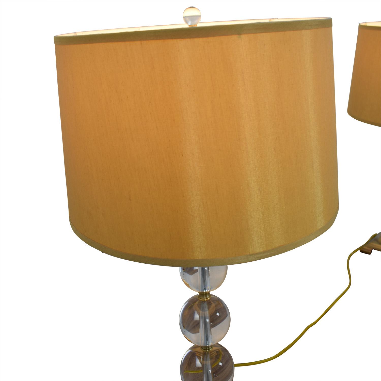 Neiman Marcus Neiman Marcus Glass Globe Lamps Lamps