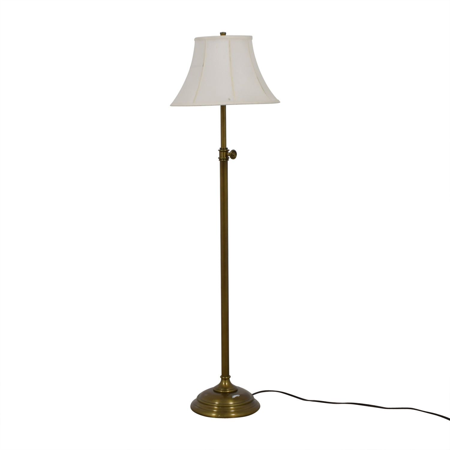 shop Pottery Barn Chelsea Antique Brass Floor Lamp Pottery Barn Decor