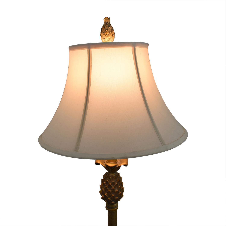 Vintage Brass Pineapple Lamp / Decor