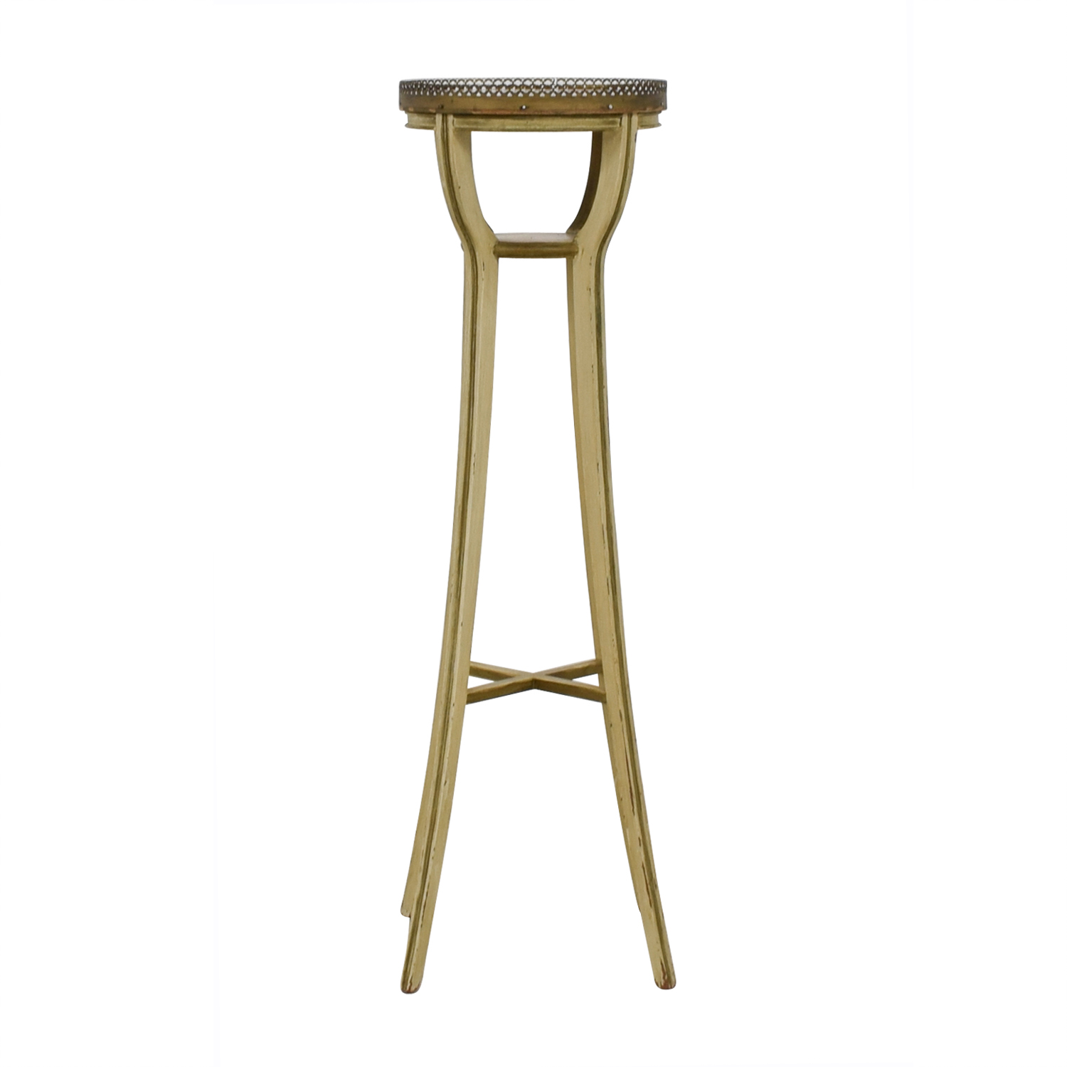 Vintage Bronze Plant Stand discount