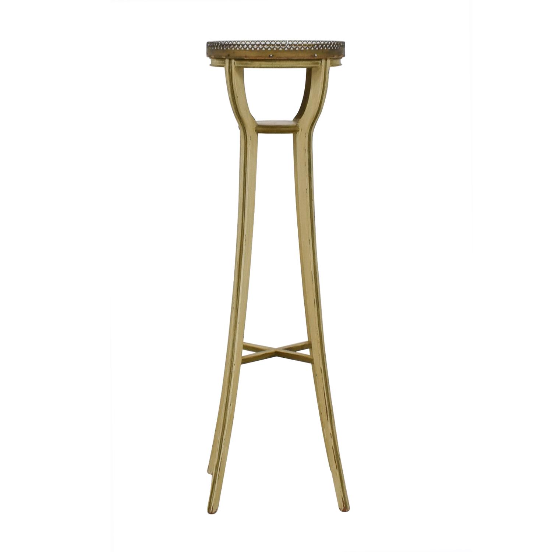 Vintage Bronze Plant Stand discount