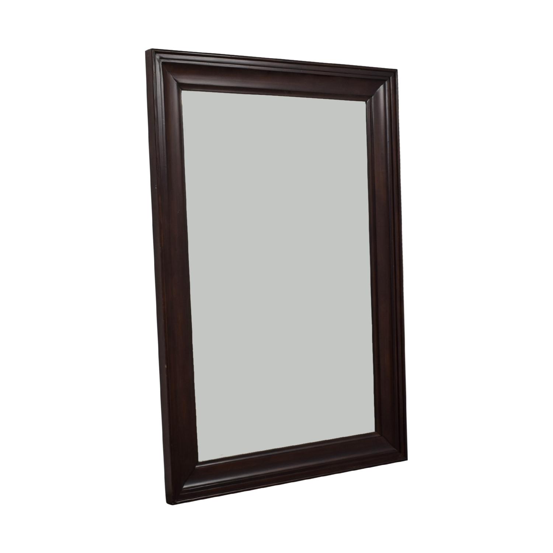 Wood Framed Floor Mirror