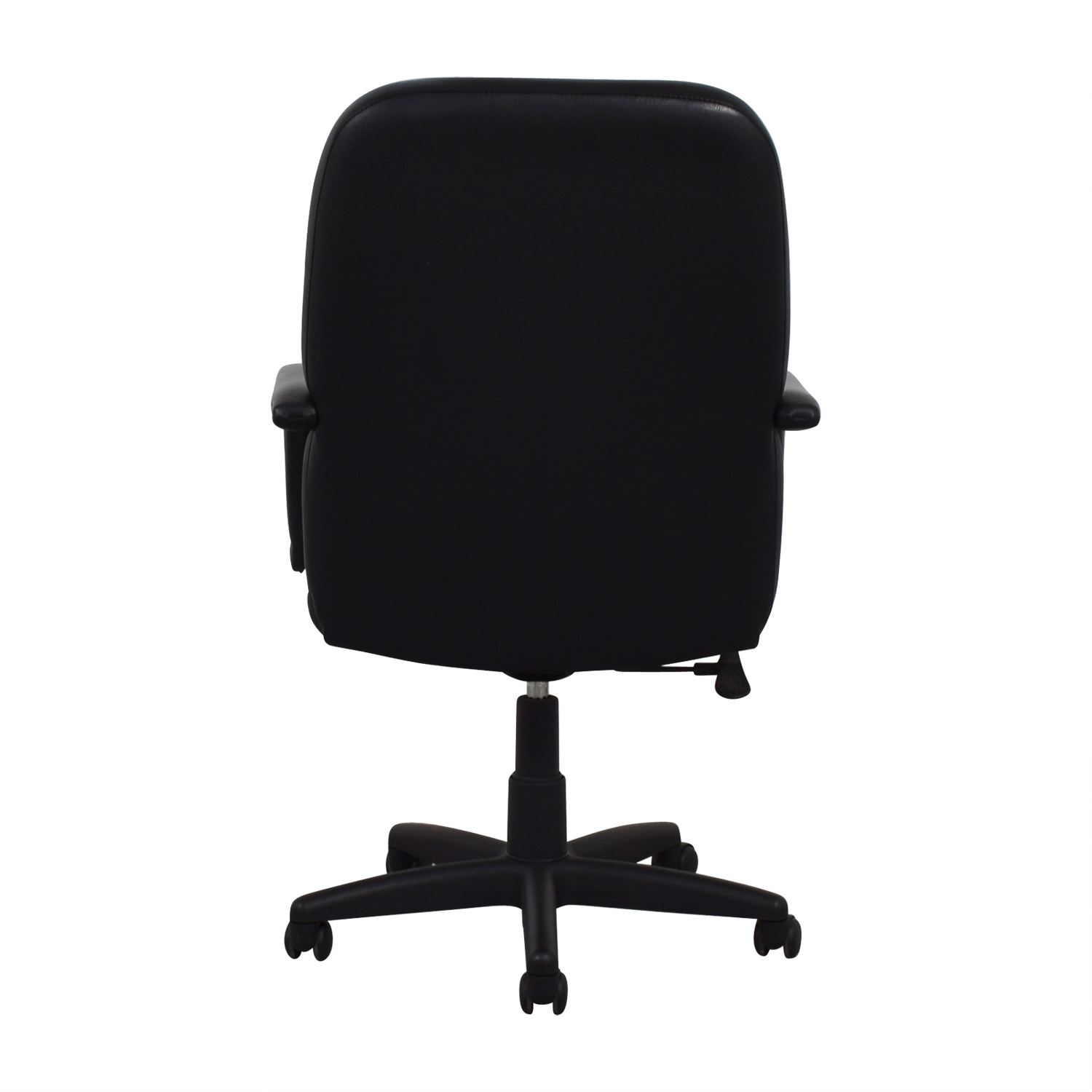 Raymour Flanigan Black Office Chair Home Chairs