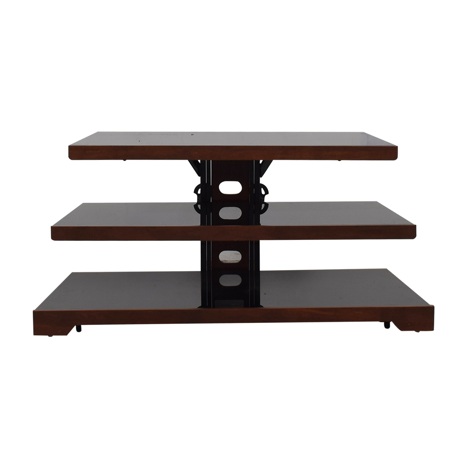Raymour & Flanigan Raymour & Flanigan Black Open TV Stand on sale