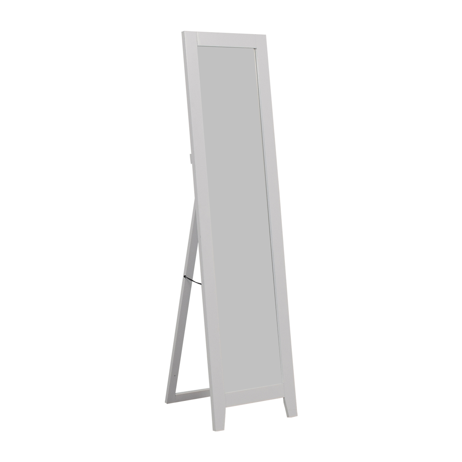 shop Kings Brand Furniture Andover Mills White Framed Floor Mirror Kings Brand Furniture Sofas