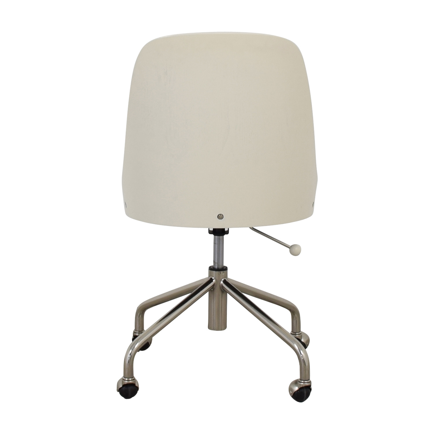 West Elm West Elm Bentwood White and Grey Office Chair price