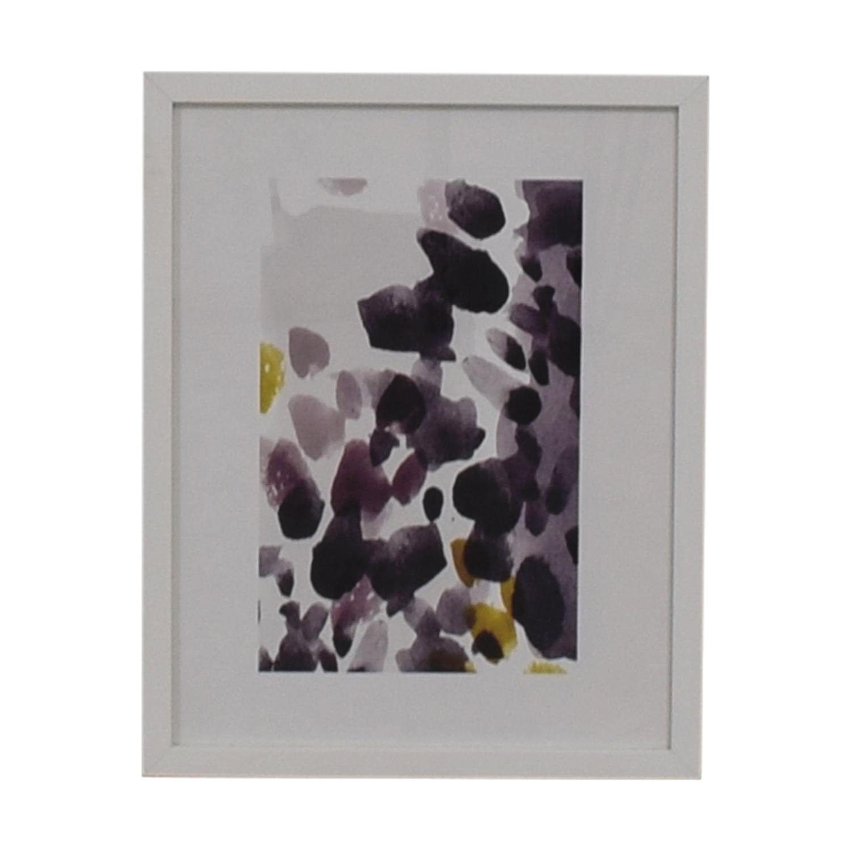 West Elm Mineral Framed Print sale