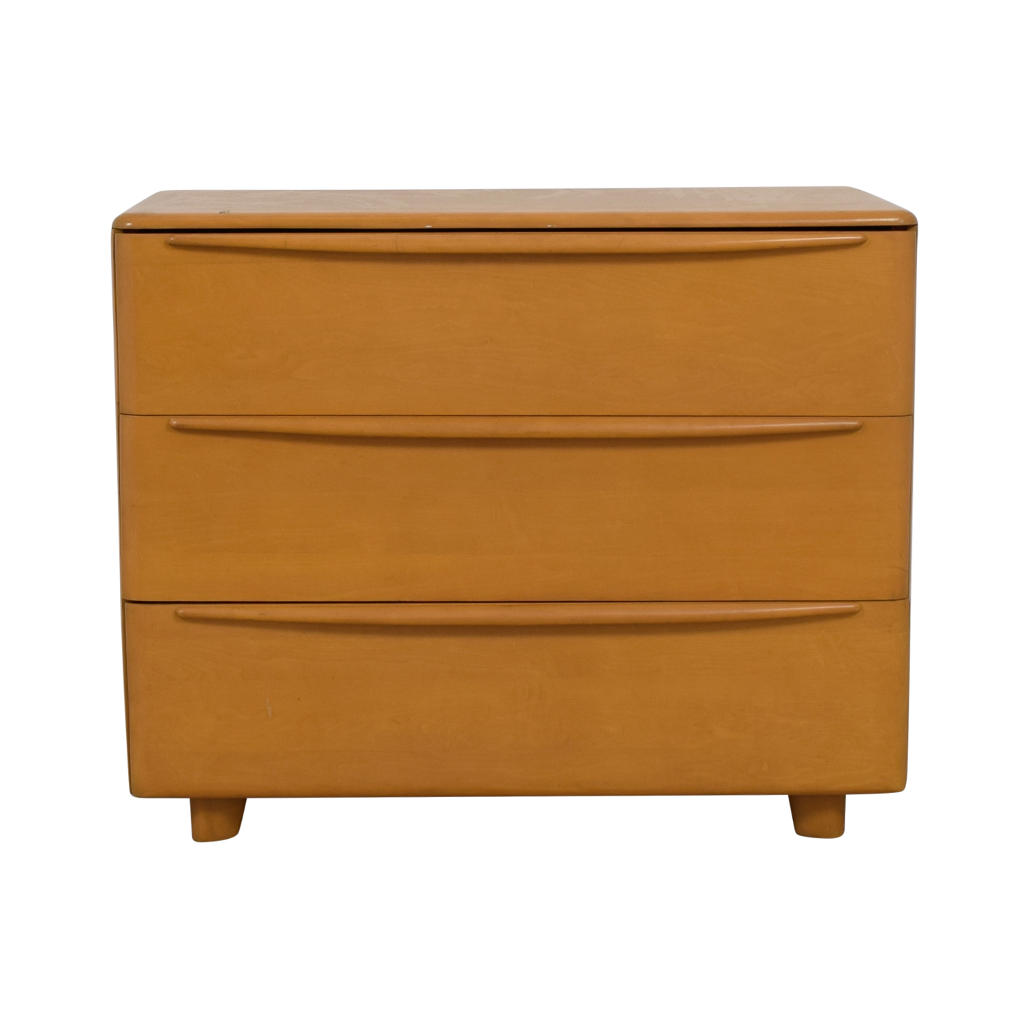 shop Heywood-Wakefield Encore Wheat Three-Drawer Dresser Heywood-Wakefield