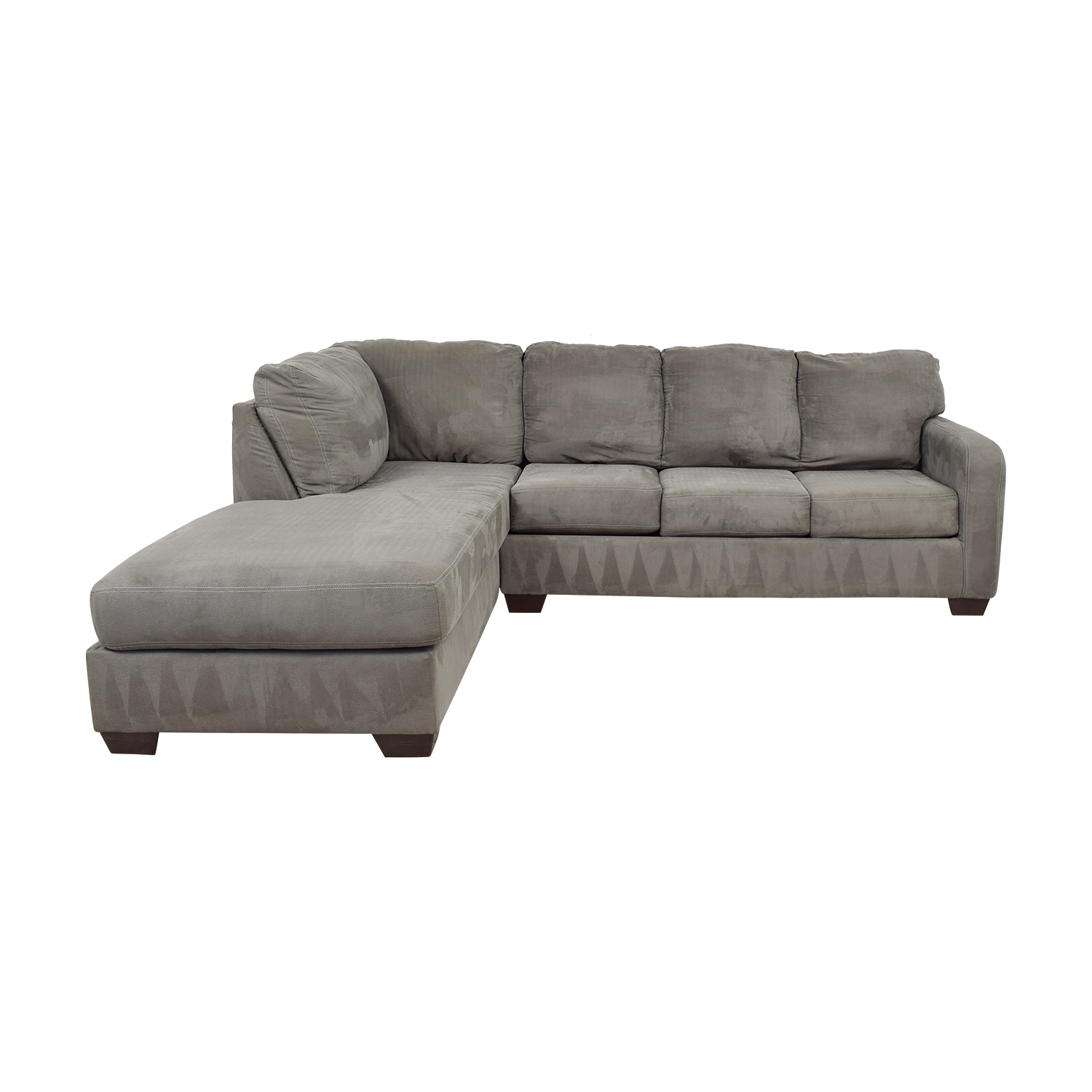 Ashley Furniture Ashley Furniture Grey Chaise Sectional nj