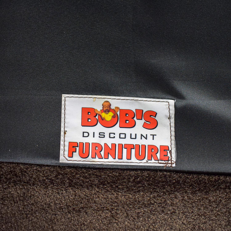 shop Bob's Furniture Brown Two-Cushion Love Seat Bob's Furniture Loveseats