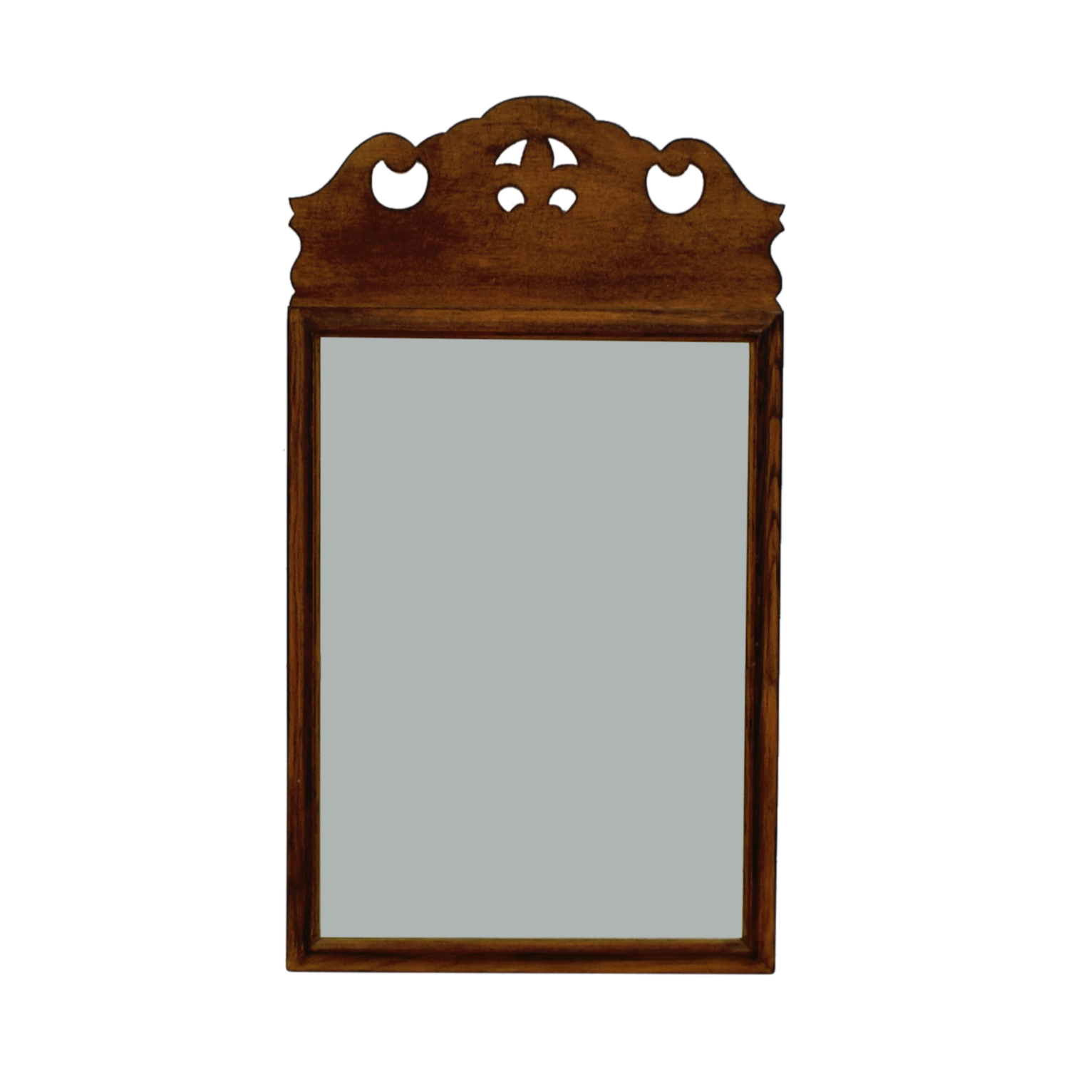 Kling Factories Kling Factories Oak Wood Framed Mirror second hand
