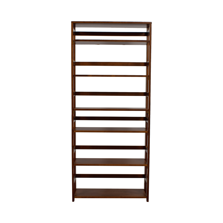 Regency Regency Wood Bookcase Bookcases & Shelving