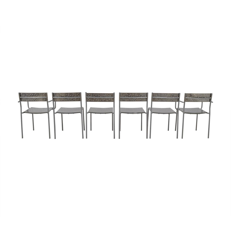 shop Archirivolto Design Archirivolto Design Delight Chrome Dining Chairs online