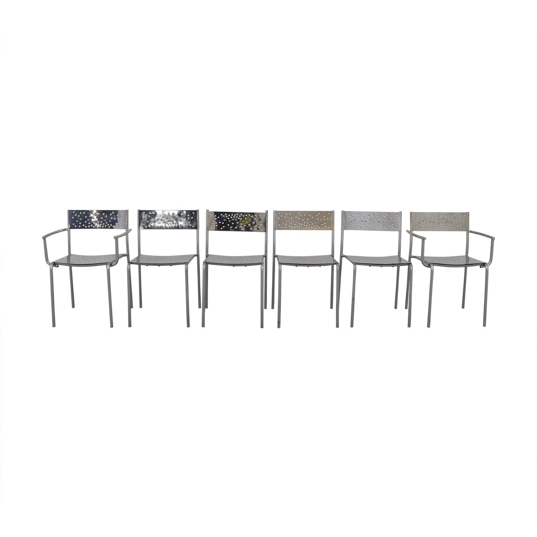Archirivolto Design Delight Chrome Dining Chairs Archirivolto Design