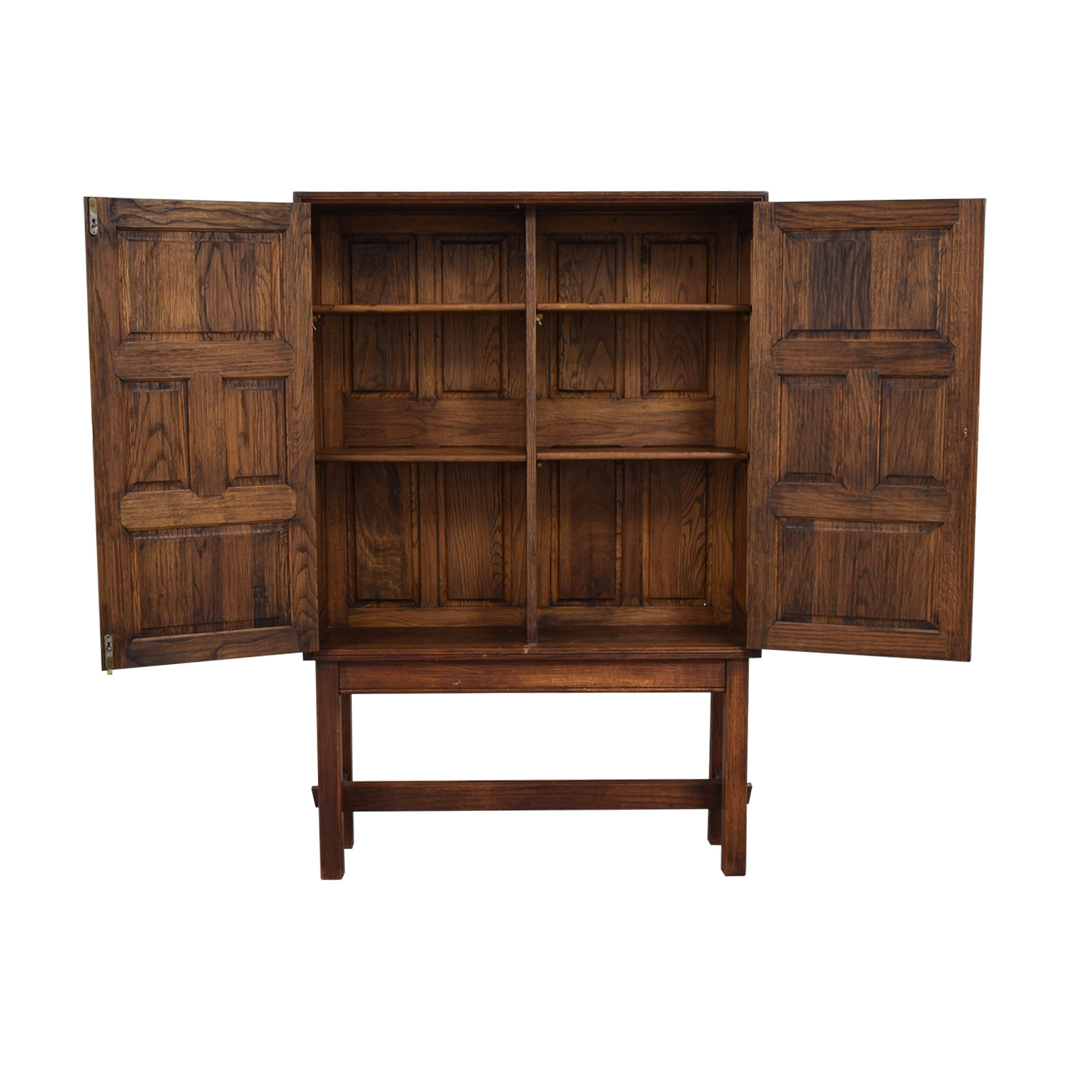 buy ABC Carpet and Home Teak Cabinet with Shelves ABC Carpet and Home