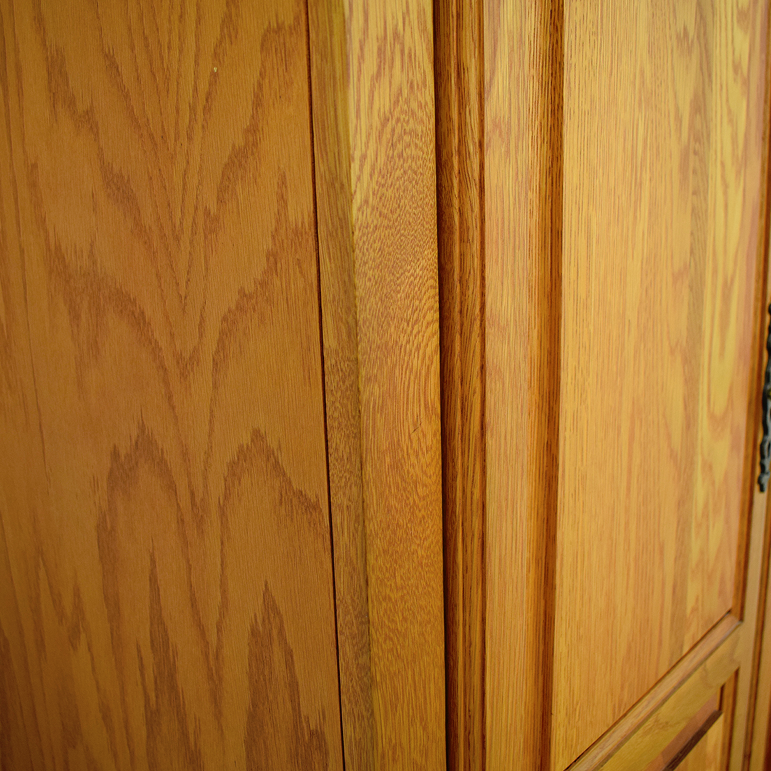 buy Custom TV Armoire with Drawers and Pull Out Shelves