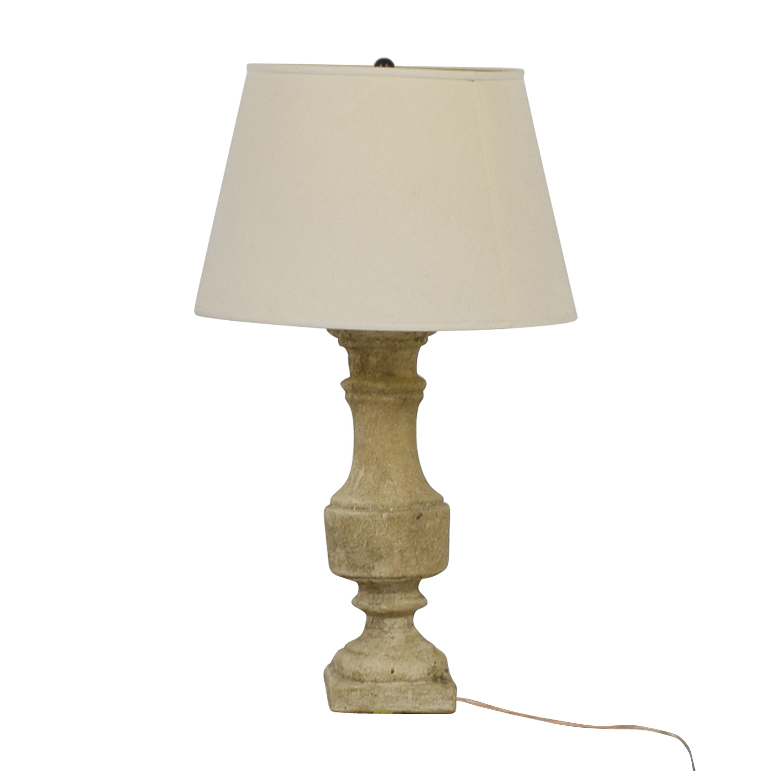 Stone Table Lamp nyc