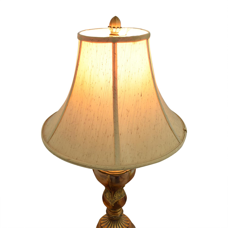 shop  Gilded Faux Blown Glasswork Table Lamp online