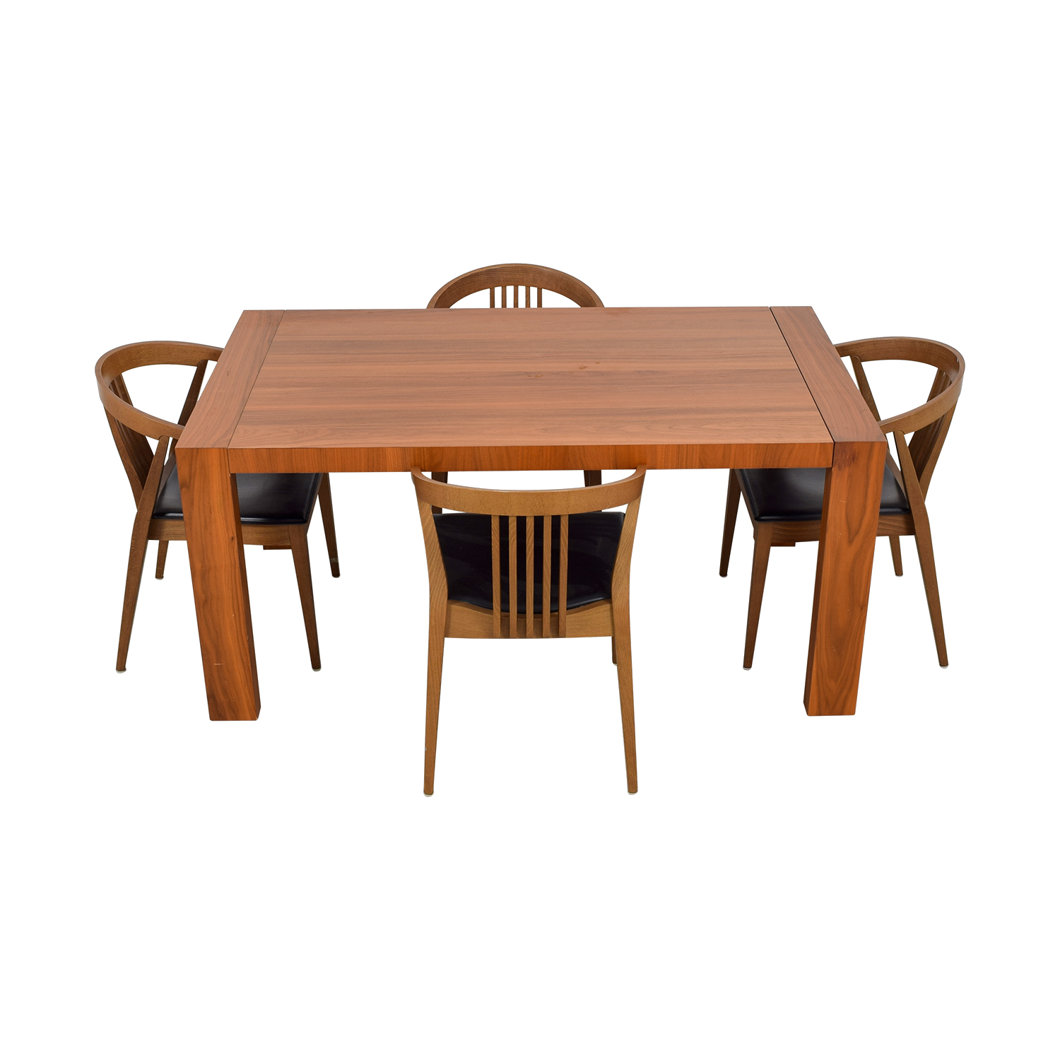 Calligaris Extendable Wood Dining Set sale