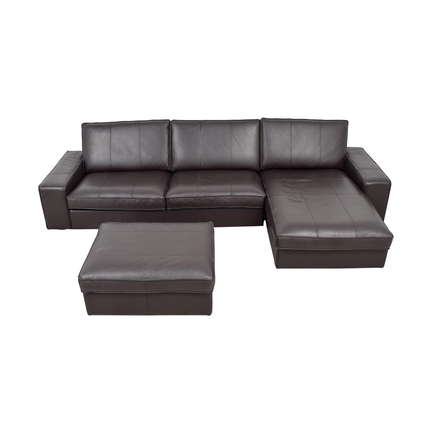 IKEA IKEA Kivik Chaise Sectional with Ottoman Sofas