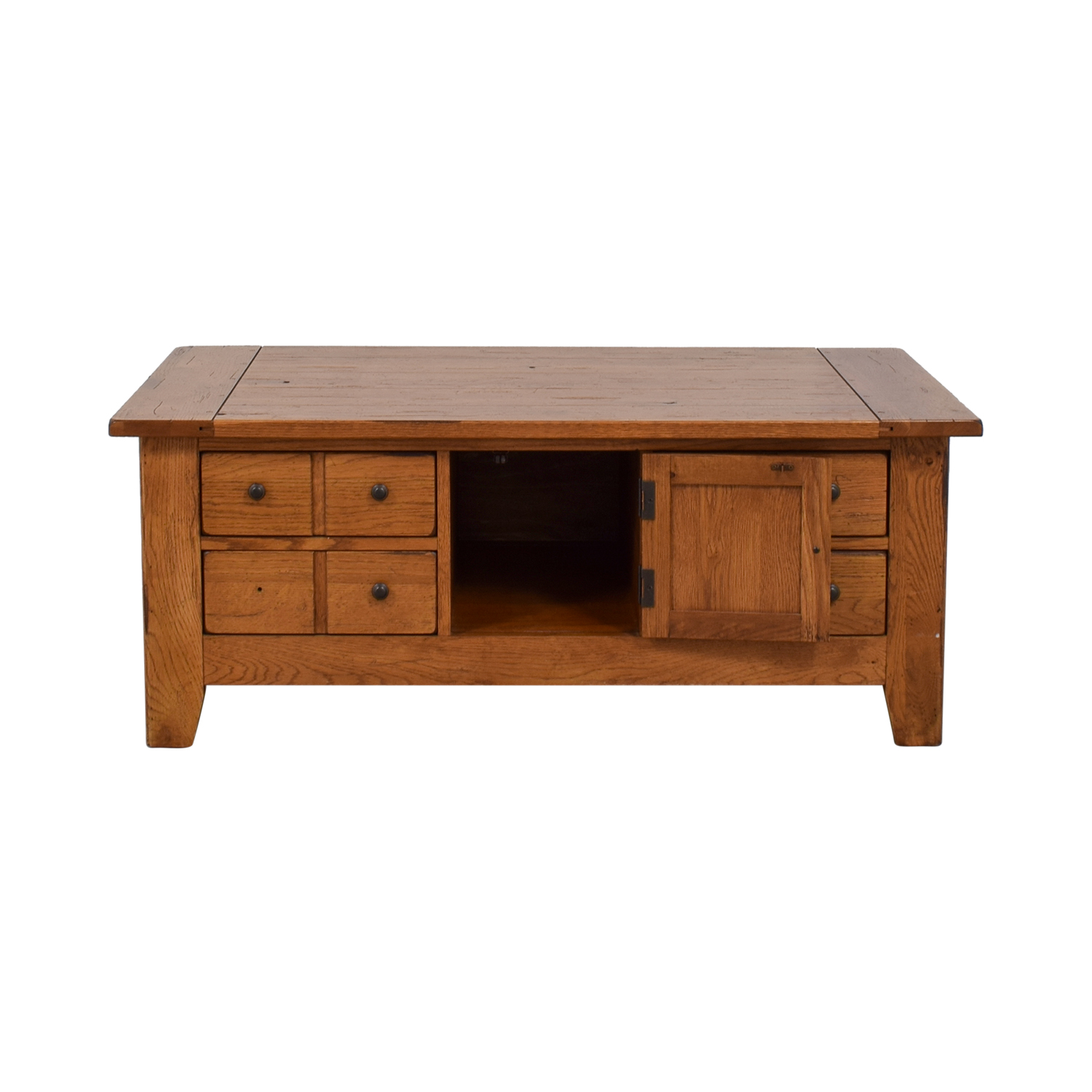 Broyhill Broyhill Natural Wood Coffee Table with Storage