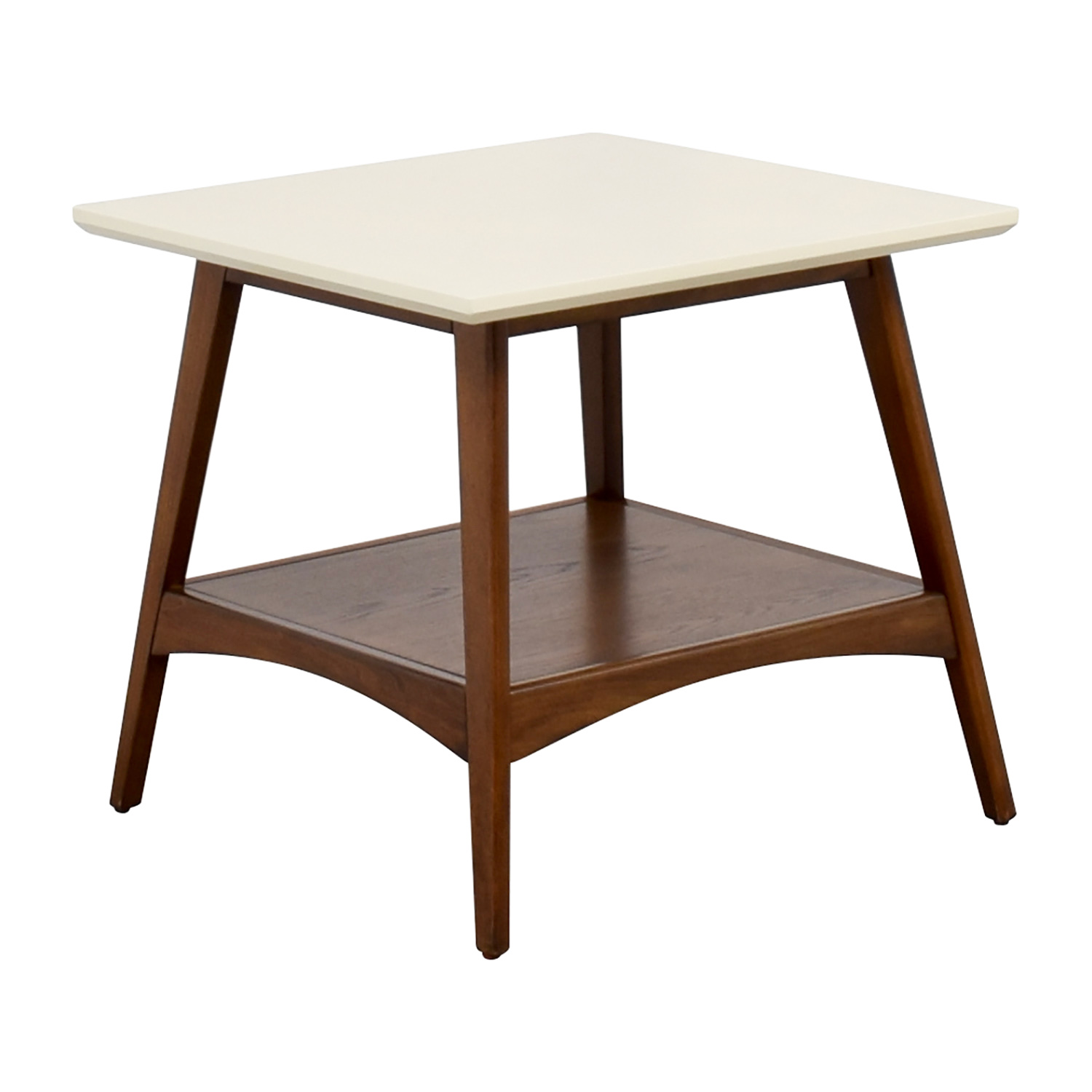 ... Madison Park Erin White And Wood End Table Madison Park ...